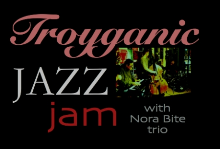 Troyganic jazz jam with Nora Bite trio