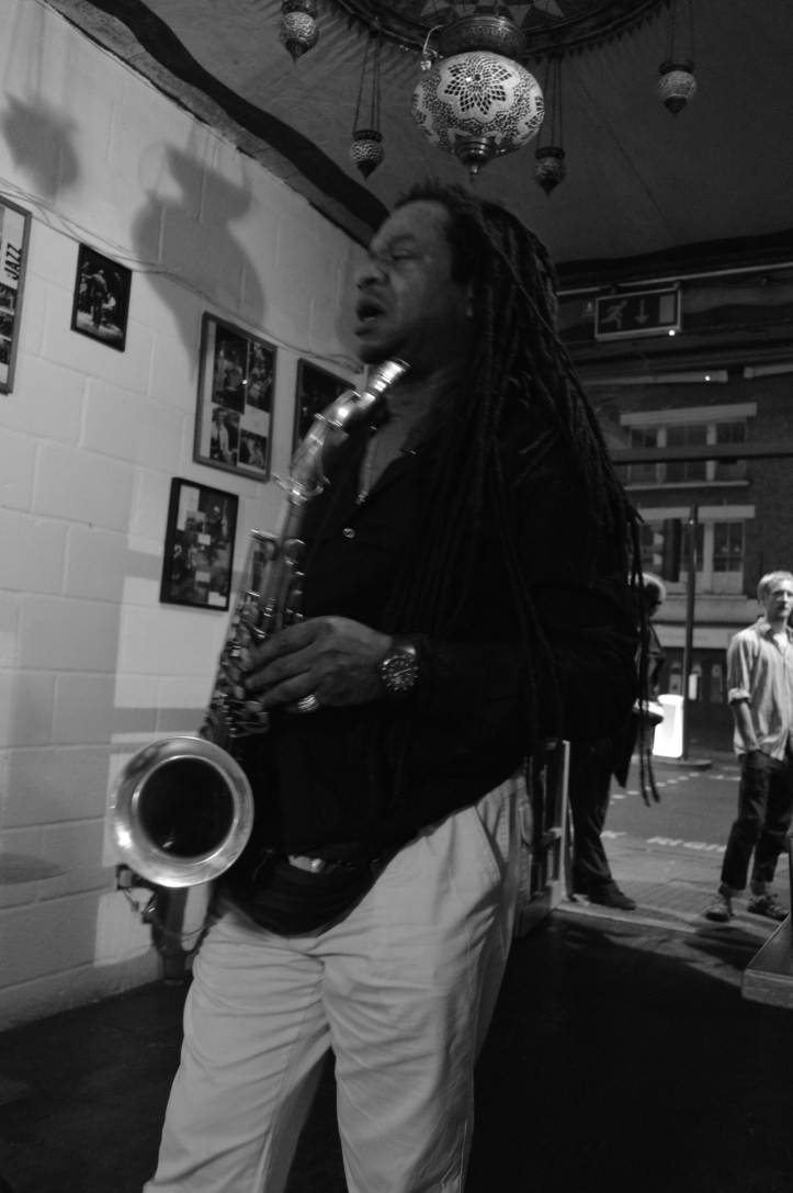 Bukky Leo- saxophone - Troyganic jazz jam - Jazz jam London - Shoreditch live music - Saturdays night live music in London