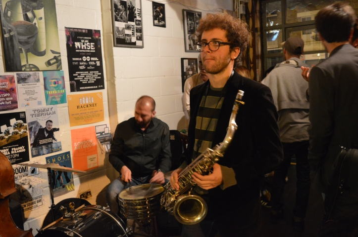 Marco Marotta - sax , Troyganic jazz jam- Jazz jams in London - Jazz drums - Jazz music - Live music in London East