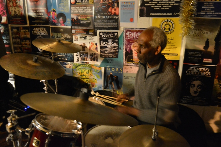 Ewan - drums .Troyganic jazz jam- Jazz jams in London - Jazz drums - Jazz music - Live music in London East
