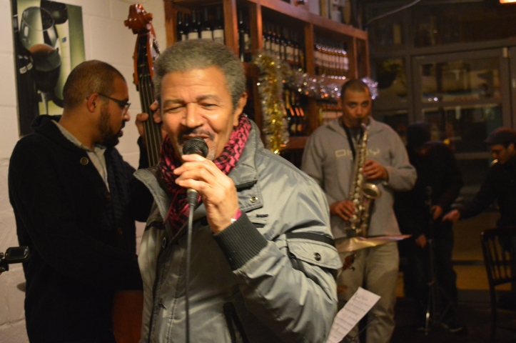 Henry Sai Provencal - voice .Troyganic jazz jam- Jazz jams in London - Jazz drums - Jazz music - Live music in London East