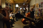 London jazz jam - at troyganic . every saturday. nora bite trio. original music live london every saturday