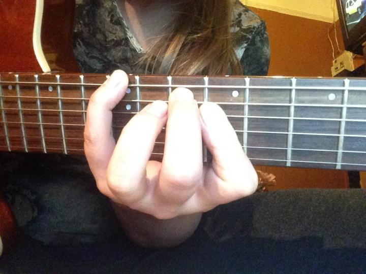 Cmaj7/E chord - guitar licks - jazz guitar chords- fingerstyle - pannonica thelonius monk