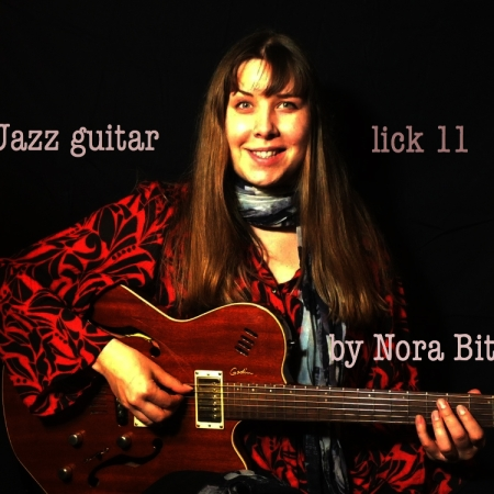 jazz guitar lick 11 by Nora Bite, Guitar lessons , jazz licks, Get guitar lessons online