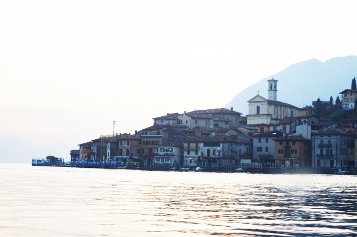 biggest island on the lake in Europe, Italy lake iseo , island monte isola