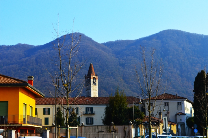 town ISEO by the lake iseo. italy travel photography
