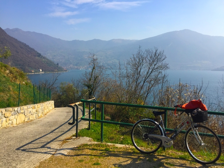 monte isola island in italy, bicycle ride, active travel photography, travel tips blog, travel blog