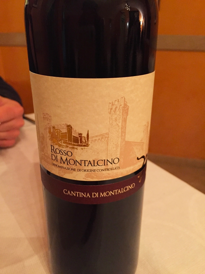 one of the wines. Red wine - northern italy