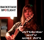 female jazz guitarist - londoner coming from latvia - nora bite. interview about jazz, london, latvia and more