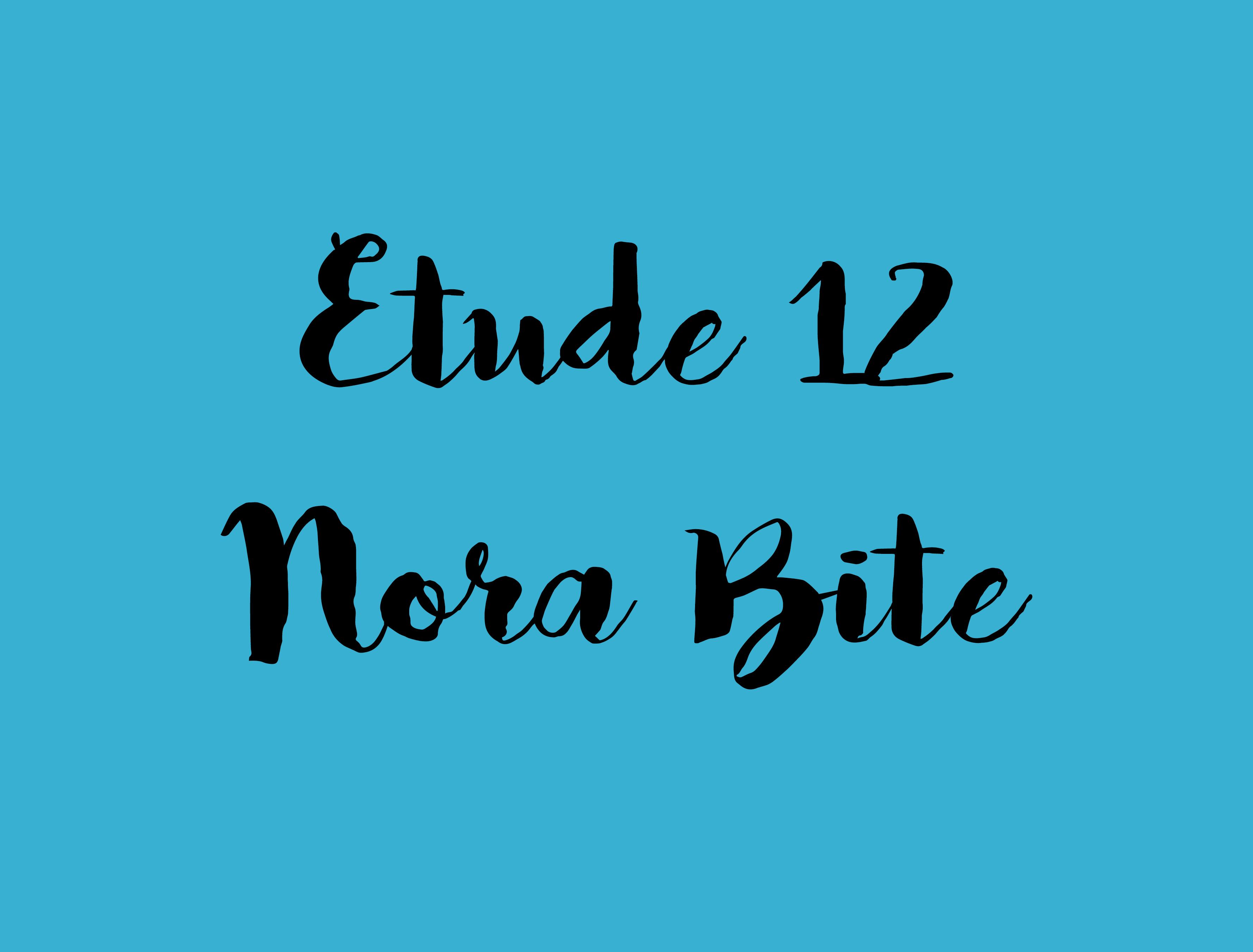 etude 12