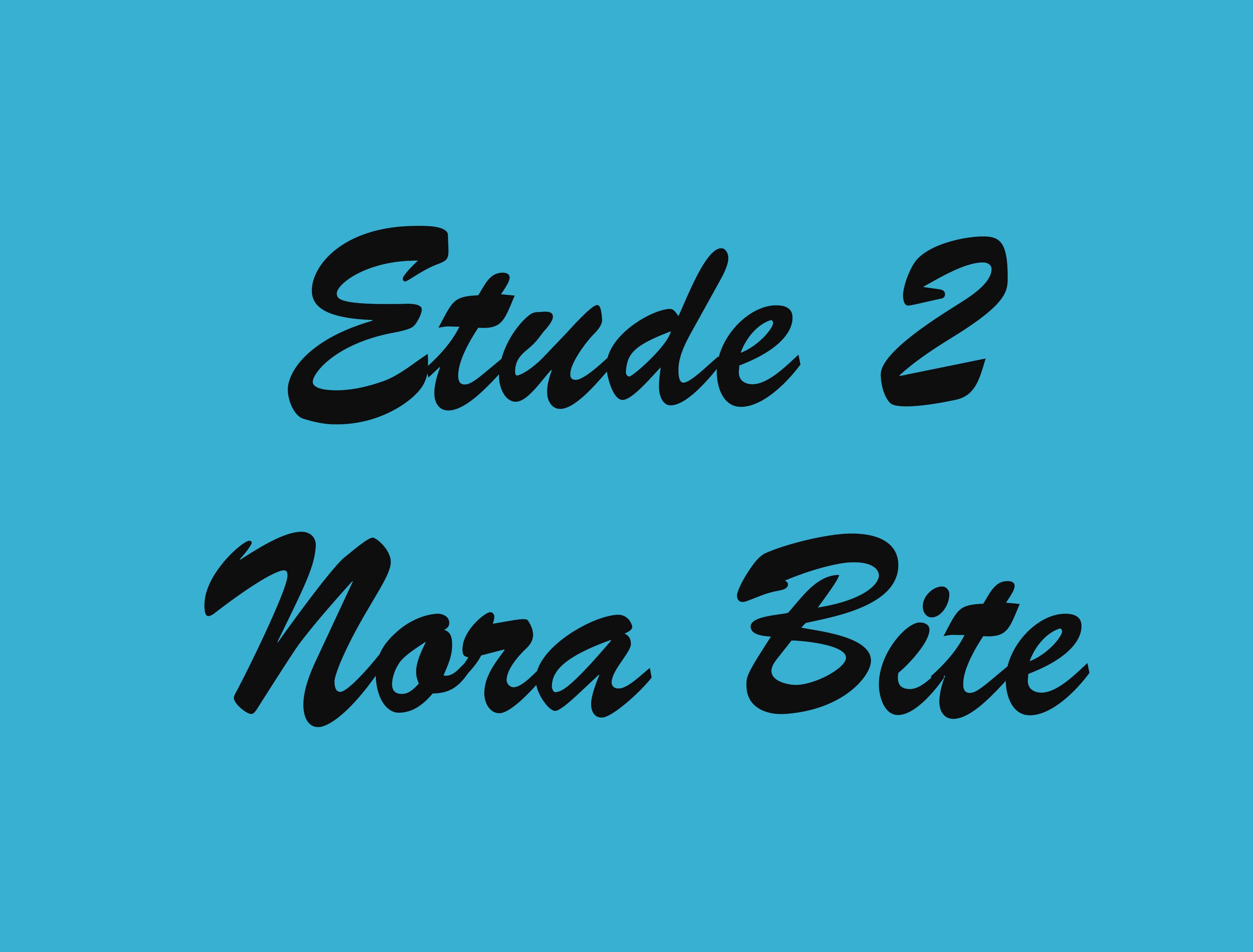 etude 2 blue