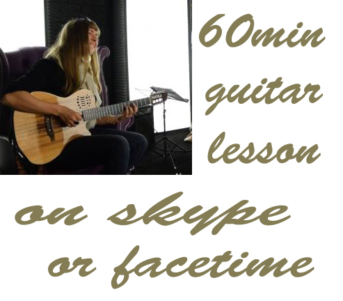jazz guitar lesson skype or facetime