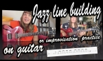 Jazz line building on guitar jazz improvisation lessons