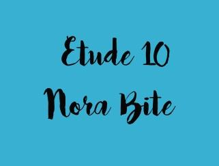 etude 10 blue